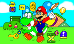 Super Mario World by MarioSimpson1