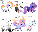 Pixel Pony Adopts {OPEN} by FallenFateAdopts