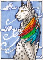 ACEO -Colors of the Rainbow- by CrescentMoon