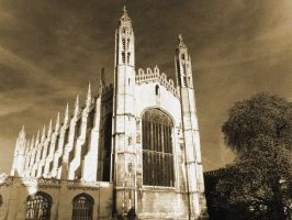 Kings College Cambridge by davepphotographer