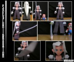Sephiroth Paper Model by acidic055
