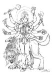 Durga Kate - pencils by dirktiede