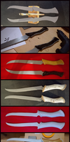 WIP Legolas' Daggers by Kawaii-Fruit
