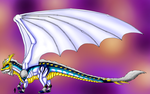Redesign of Dusk the Astral Dragon by Lord-Lavrahtheen