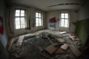 Abandoned mansion III by only-melancholy