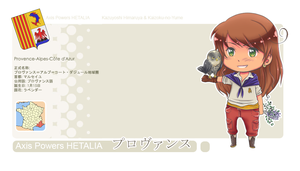 +HetaOC+ Profile ID Card: Provence + profile link by Kaizoku-no-Yume