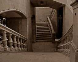 The staircase in the palace by HeretyczkaA