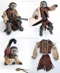 Jack the Monkey Pirates of the Caribbean Prop by Ideationox