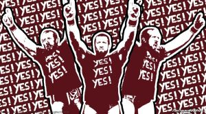WWE Daniel Bryan 'YES' Wallpaper Widescreen by Timetravel6000v2