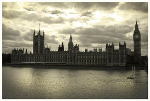 The Palace of Westminster by LeafOfSteel