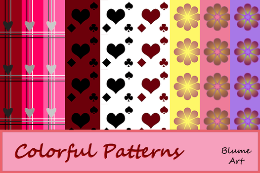 Colorful Patterns by Blume-Art