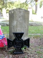 Confederate Grave VI by BlutEisen