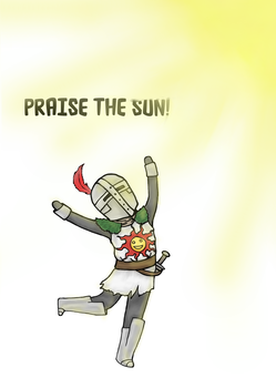 Chibi Solaire : Praise the sun! by skimra
