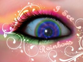 I See Rainbows by VioletPixi