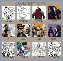 2009 Summary of Art by Scadilla