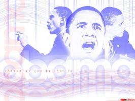 Barack Obama by e-one-design