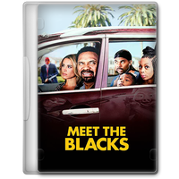 Meet the Blacks (2016) Movie DVD Icon by A-Jaded-Smithy