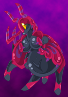 Scolipede Anthro Slime Girl by AkuOreo