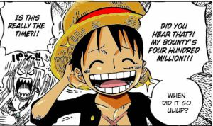Luffy (colored) by TheRedruby