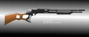 GD M1800 -shotgun- cg by Bomb18