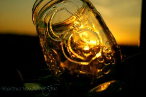 Sunset..Through the Glass by Andrew-Bowermaster