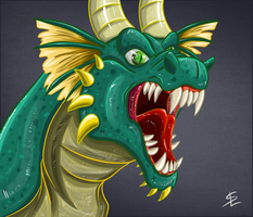Rage face by giantdragon