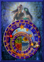 The Wheel of Fortune by 1purplepixie