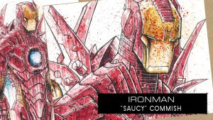 SpeedPaint: Iron Man by RobDuenas