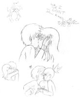 Why I DON'T Draw Kisses by an-angels-tears