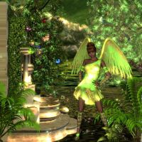 Green Angel by sweetpoison67