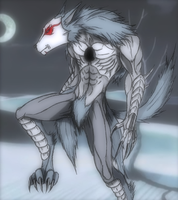 Coyote Starrk Adjuchas by Arrancarfighter