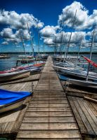 HDR Docked Boats by braxtonds