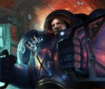Tychus inside the Odin by Phill-Art