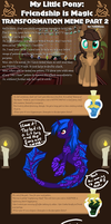 MLP: FiM Transformation Meme 2 - Rune by Nachturia