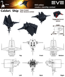 a starship for EVE online by EvilOldGlass