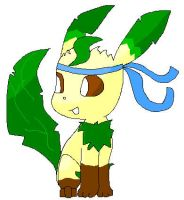 Leafeon by TwilightTheEevee