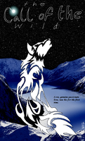 Call of the Wild Bookmark *front* by GhostKoMochi
