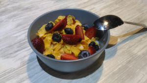 Fruity cereal bowl by tarynsgate