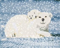 Polar Bear Illustration by sevymama