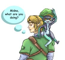 LotteryWinner  Link and Midna by Rinkuchan27