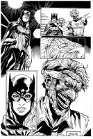 Batgirl, pencils Daniel Sampere, inks Curiel by lobocomics