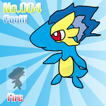 Fakemon No.004 Coolfi by MirageRemix