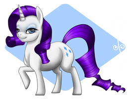 .:Rarity:. by PeaBlueJr
