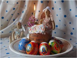 The feast of the Orthodox Easter by An-gora
