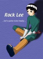 Rock Lee by angel-maxwell