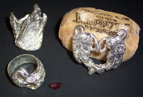 Silver Pieces: Unfinished by ellana