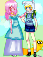 Adventure Time by inioli