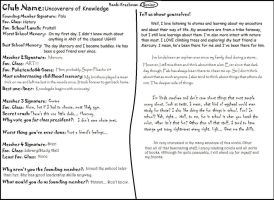Tao High Writing App - Uncoverers of Knowledge by mousie242