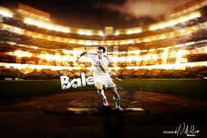 Wallpaper G.Bale by Nescanze