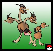 Doduo Family by ZappaZee